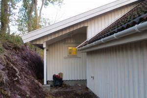 Pengene har bidratt til bygging av et toalettanlegg på eiendommen Knudsrød. (Foto: Inger Helene Wall).
