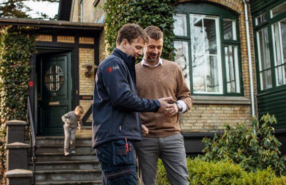 Et av fire innbrudd kan unngås ved bruk av boligalarm. Det er viktig å bruke alarmen hele døgnet, for tyvene blir stadig frekkere. (Foto: Falck Alarm).