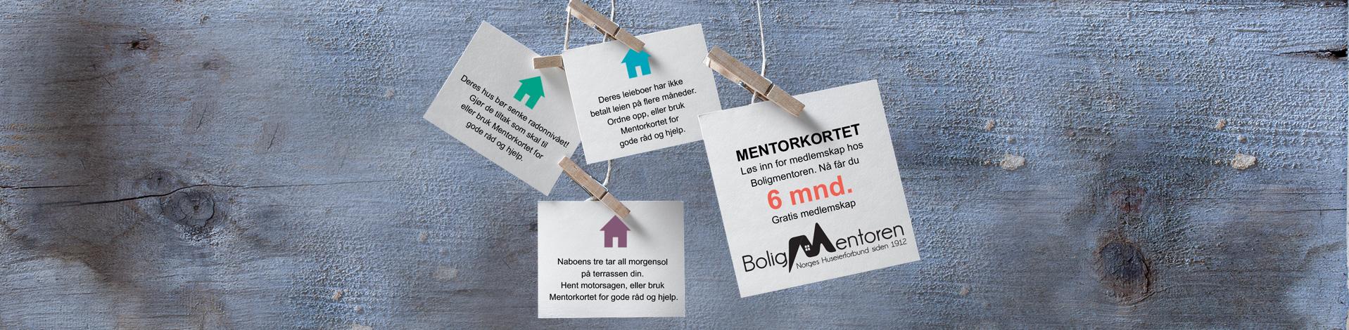 6 mnd gratis medlemskap i BoligMentoren