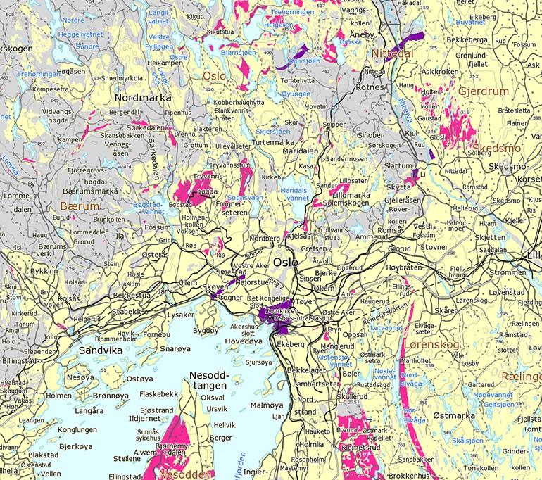 kart over radon i norge Radonsesongen snart igang   ikke tolk radonkartene feil  kart over radon i norge